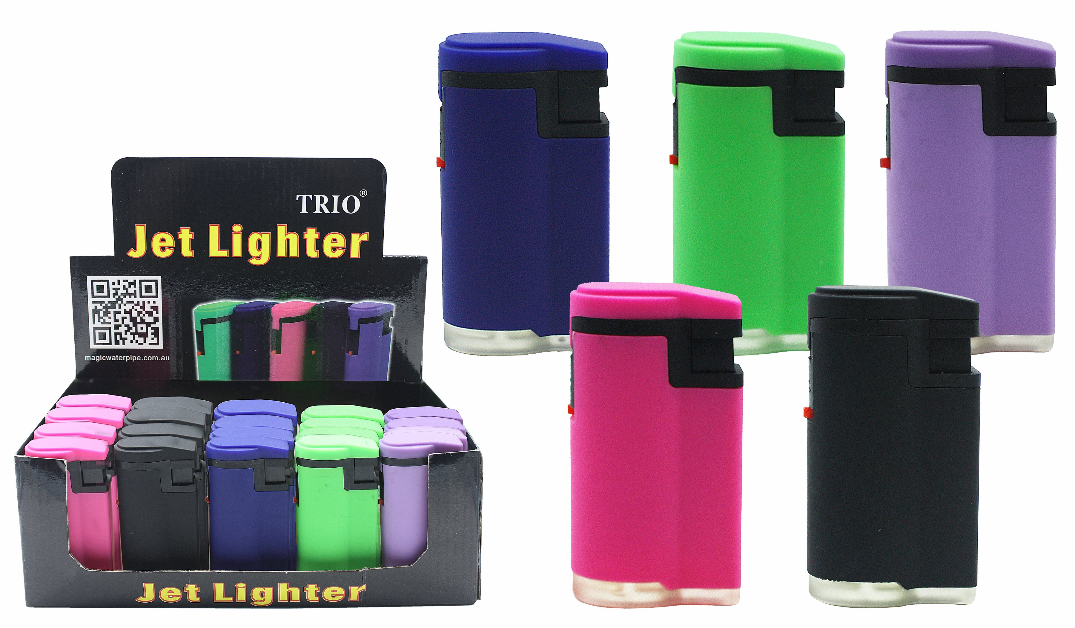 Fluro Rubber Finish Jet Flame