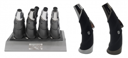 Trio Premium Ox Horn Rocket Flame Lighter