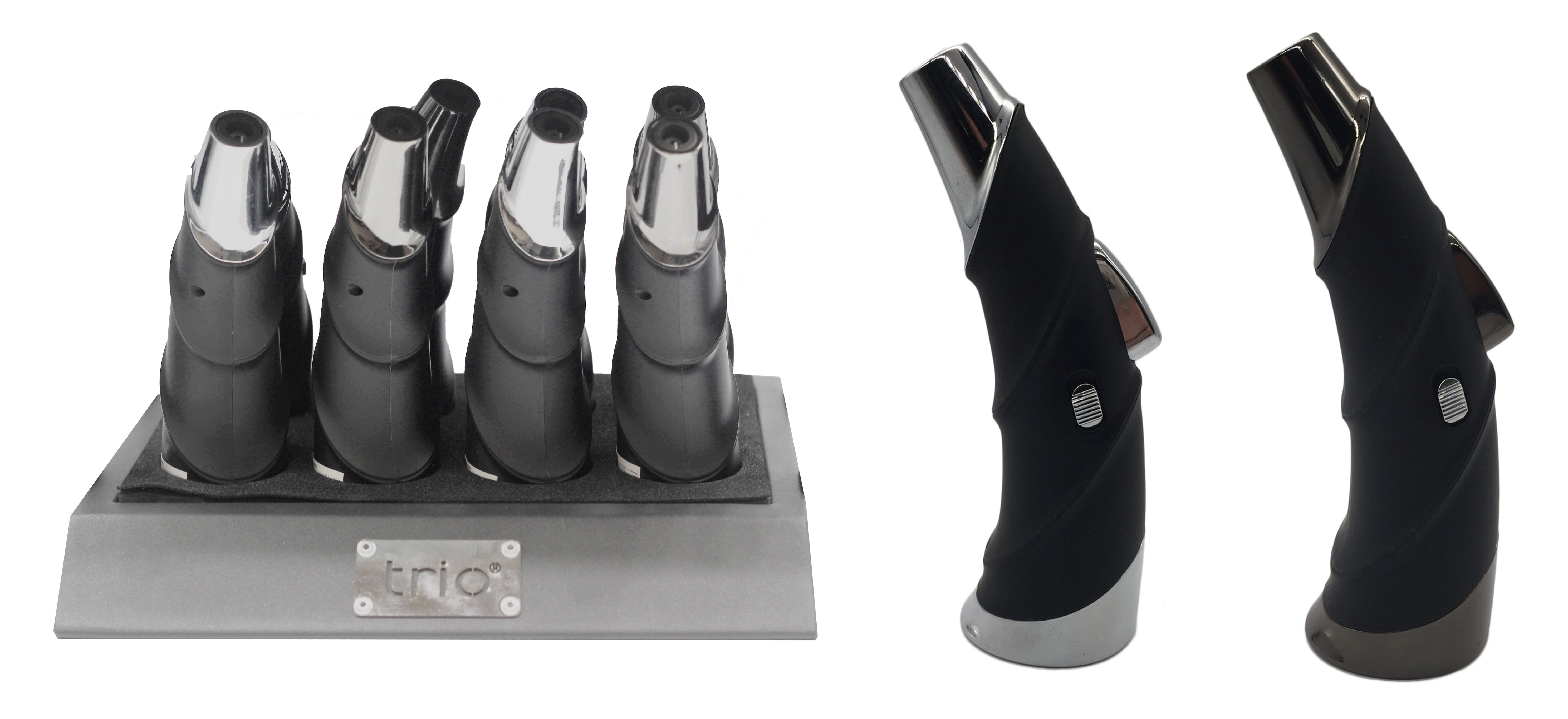 Trio Premium Ox Horn Rocket Flame Lighter