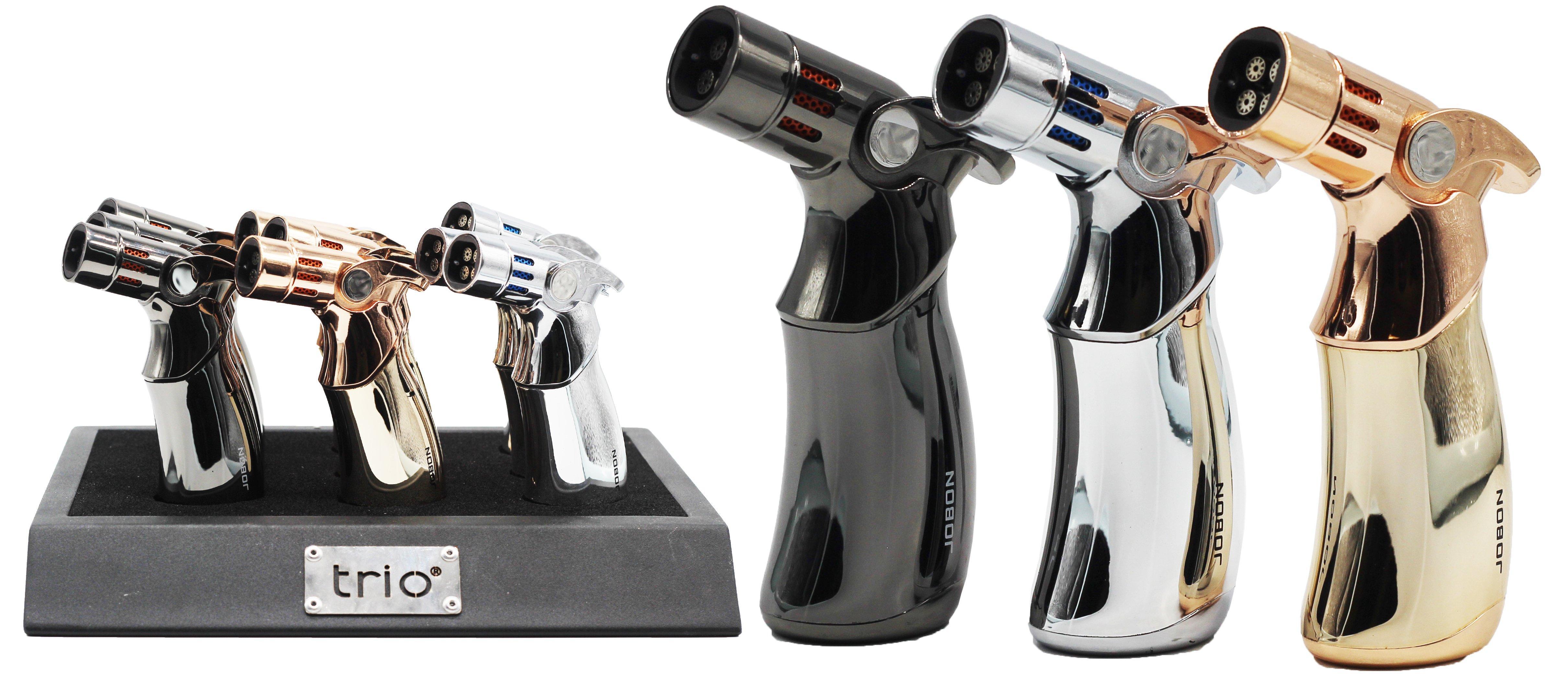 Trio Premium Quadruple Jet Lighter