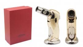 Premium Rocket Flame Jet Lighter - Gold