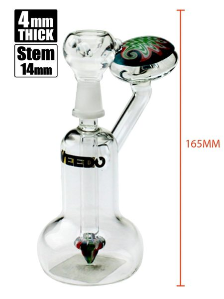 WEEDO Shroom Bong (free stickers)