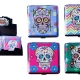 Candy Skulls Cigarette Case - Holds 20