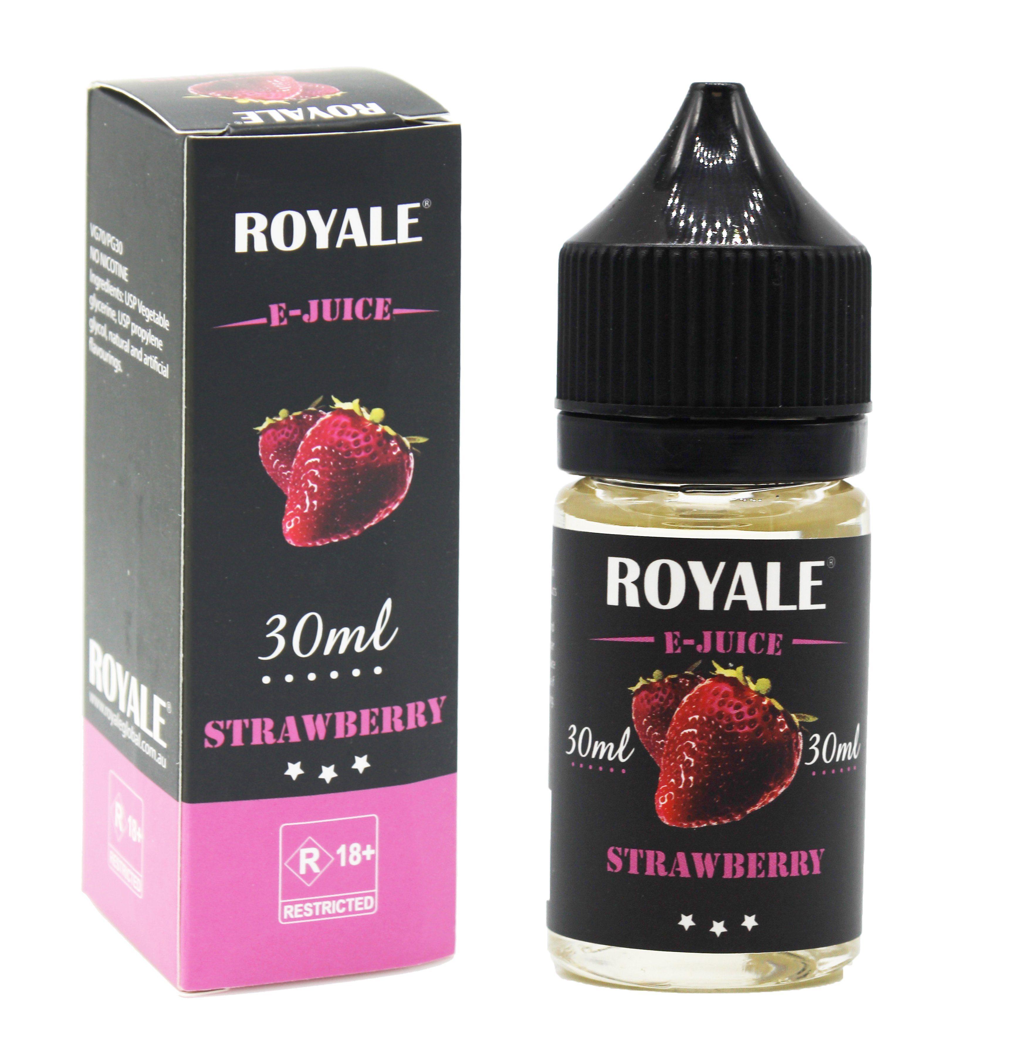 Royale E-juice- Strawberry