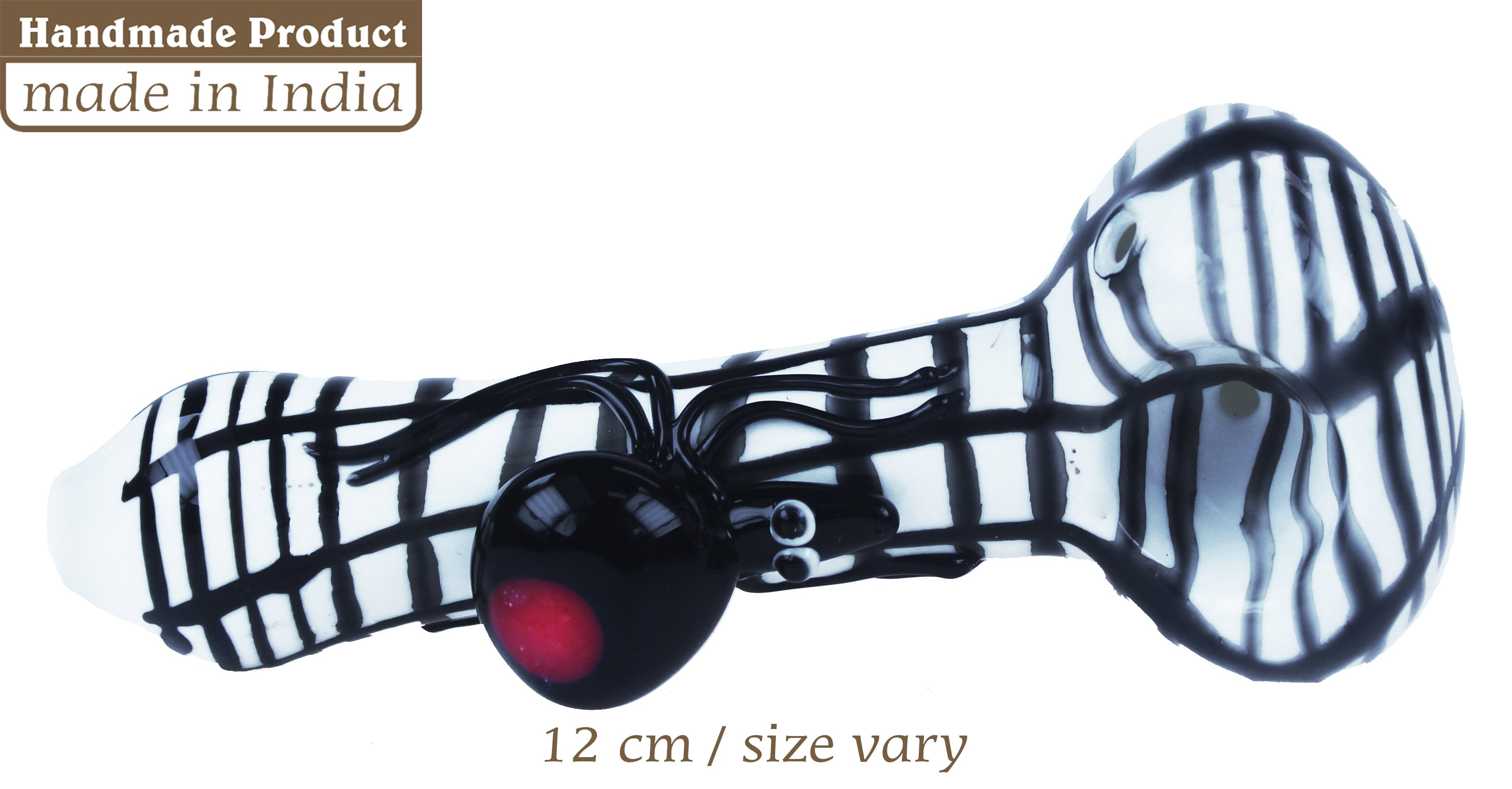 3G Peanut Pipe With Redback Sipder (12cm)