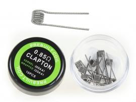 Prebuilt Clapton 0.85ohm Coil For RDA/RTA