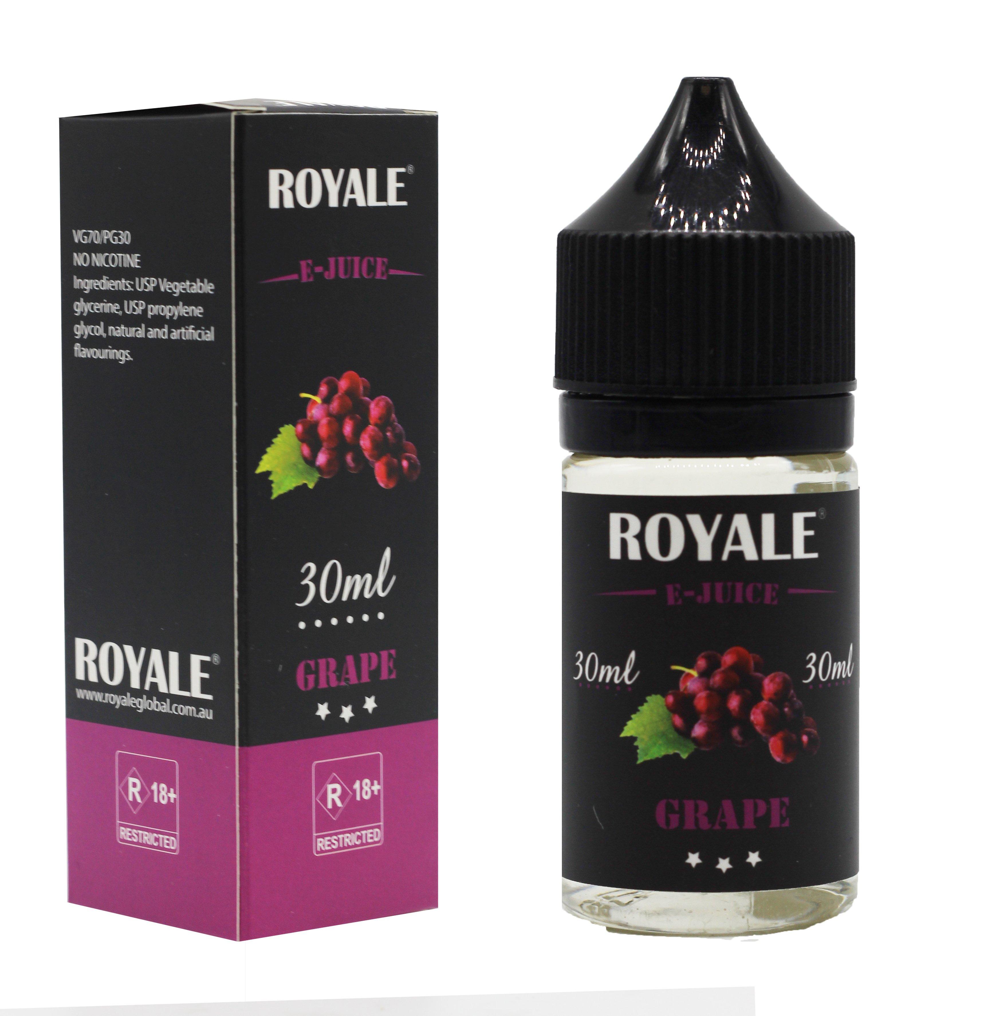 Royale E-juice- Grape Flavour