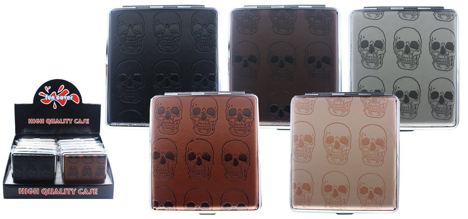 Skull Cigarette Case (20 Cigarettes)