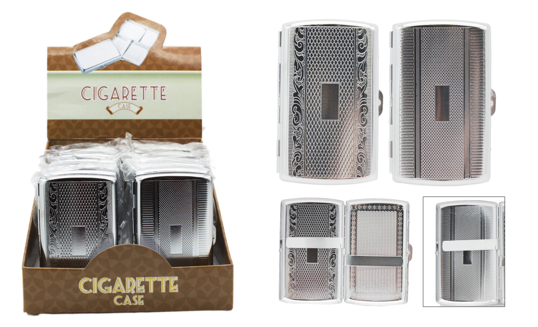 Metal Cigarette Case (holds 12 Cigarettes)
