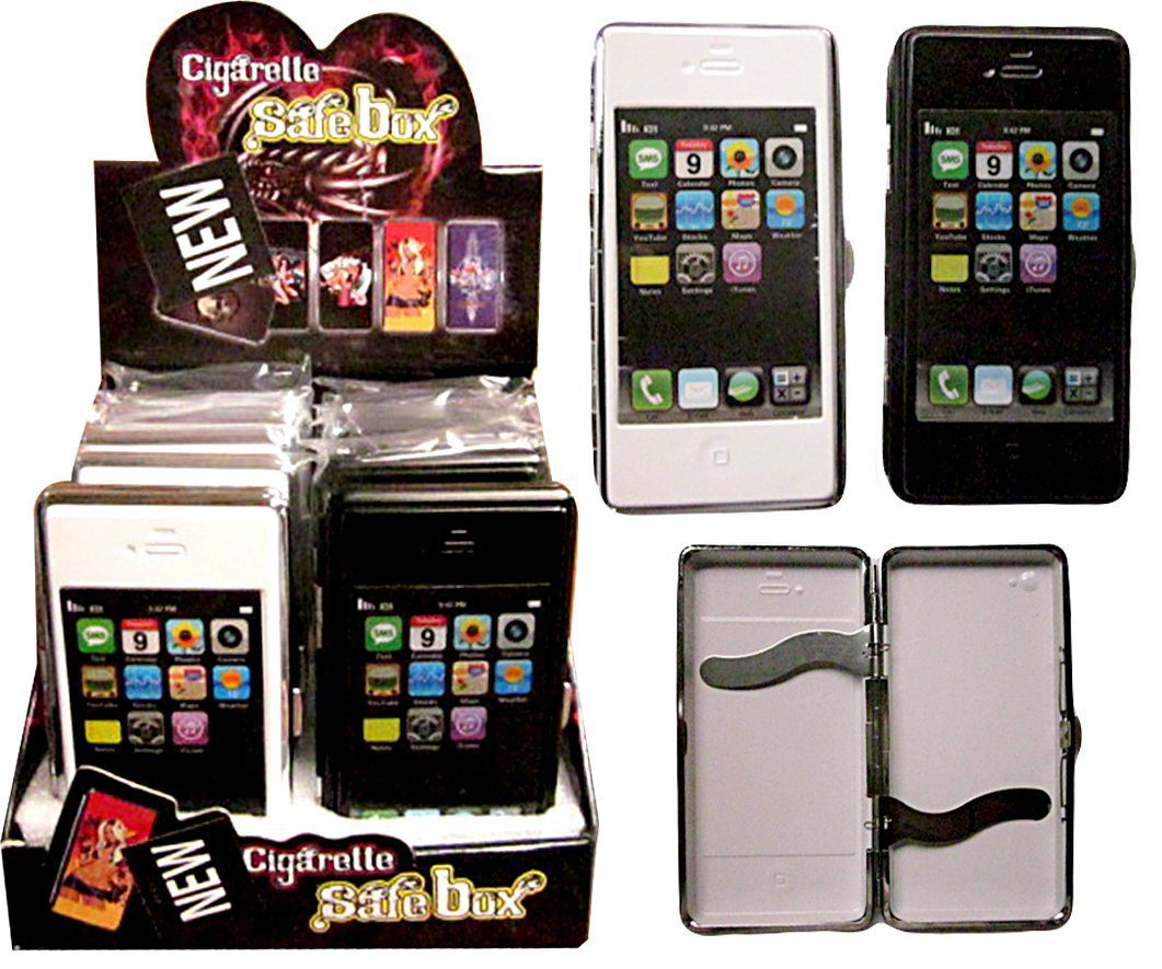 IPhone Cigarette Case Hold 16 Super King Case