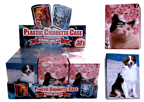 Dogs And Cats Auto Open Holds Packet Of 30's