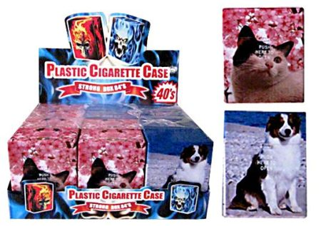 Cats And Dogs Auto Open Holds Packet Of 40's