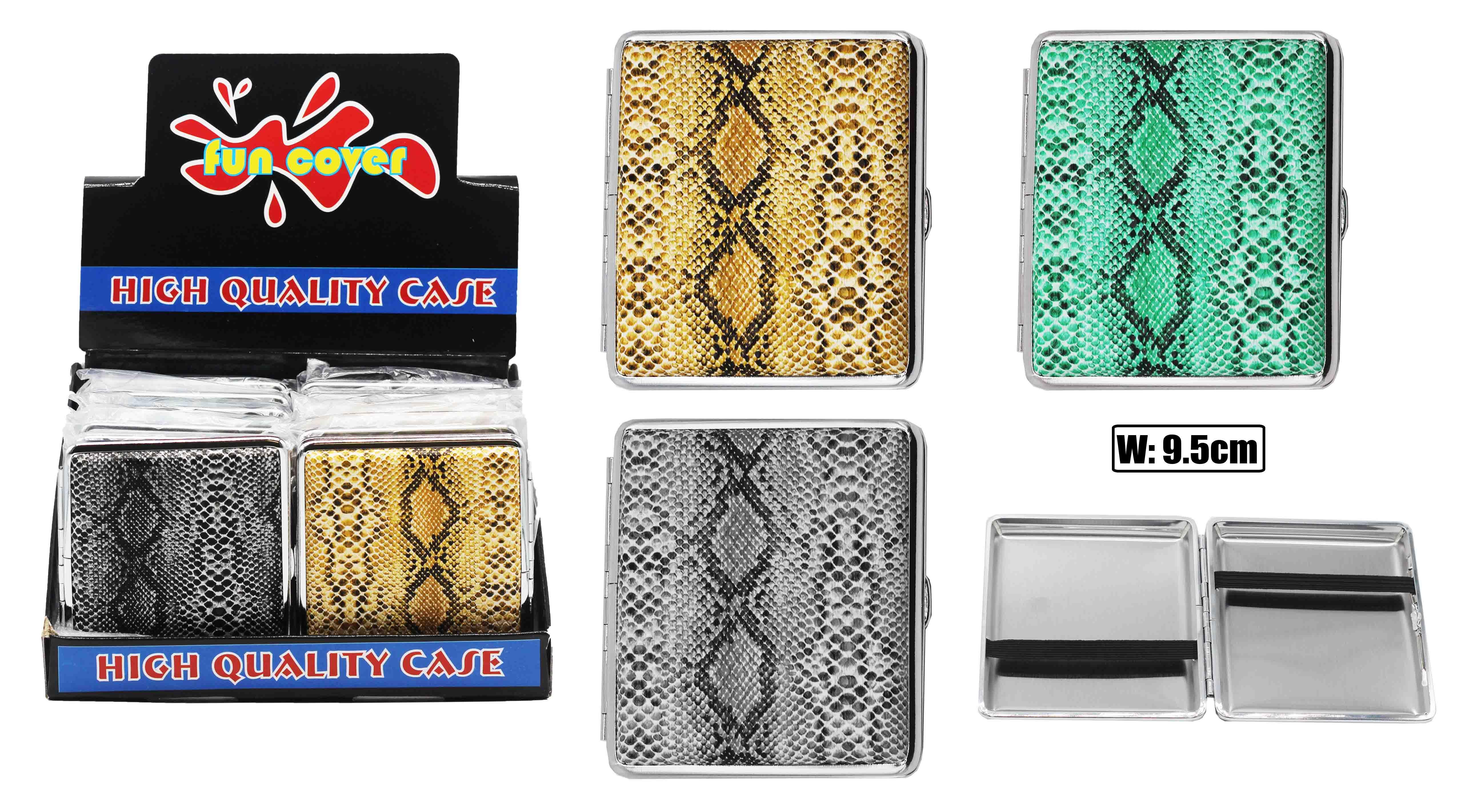 Snake Skin Cigarette Case (holds 20 Cigs)