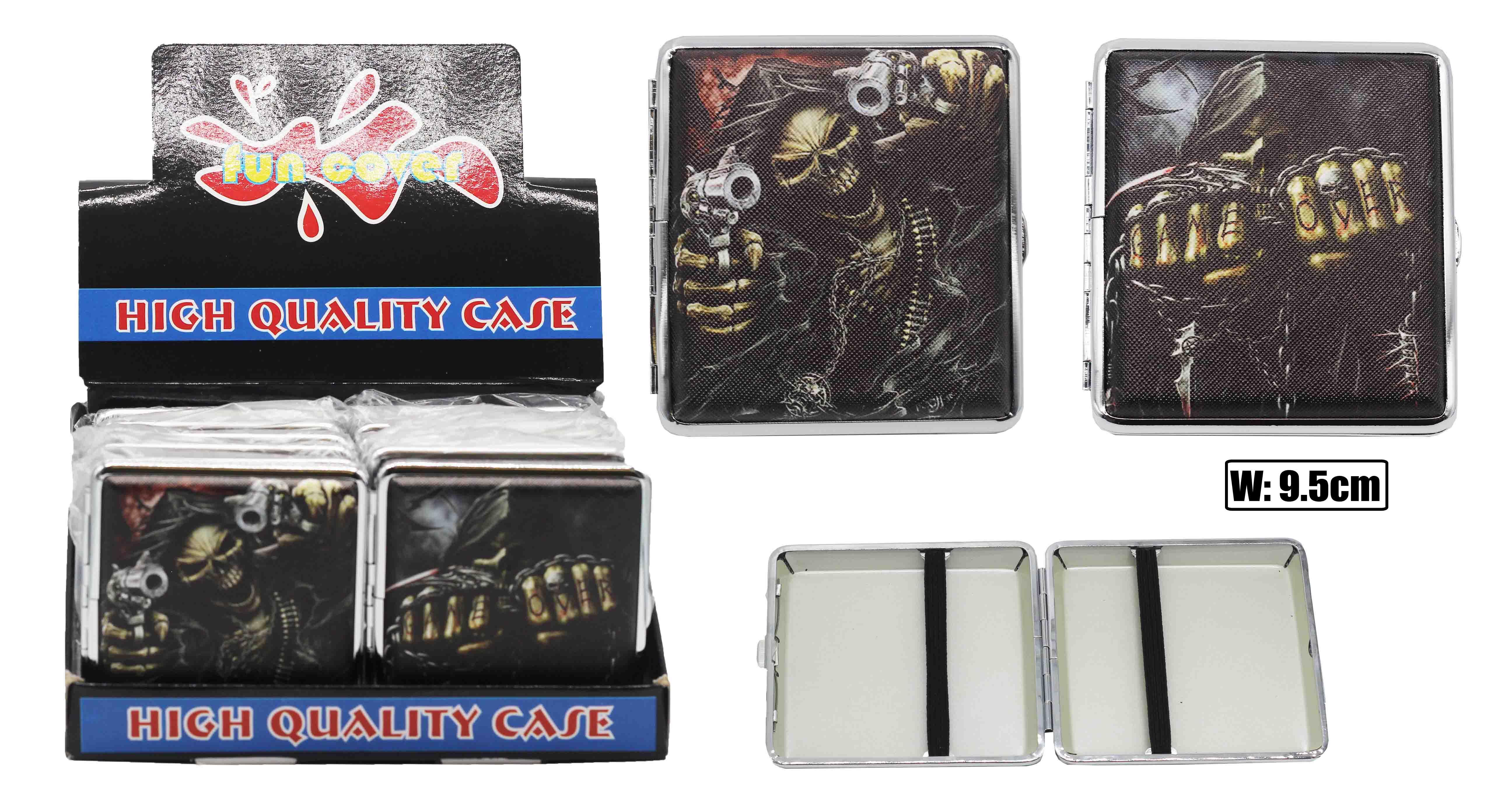 Skull Cigarette Case (holds 20 Cigs)
