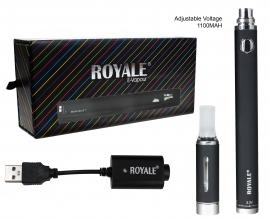 Royale Premium Adjustable Multi Voltage E-vapour  (1100 MAH)