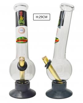 Large Glass Bonza Bubble - We Can Rasta